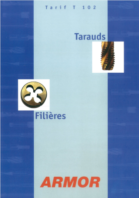 Catalogue Tarauds T102